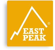 East Peak Apparel - Gold Square logo - Tshirt Canvas Print