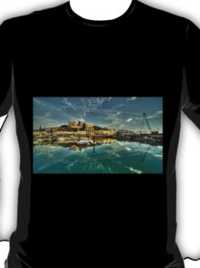 Torquay Harbour Reflections  T-Shirt