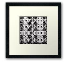 blanc noir Framed Print