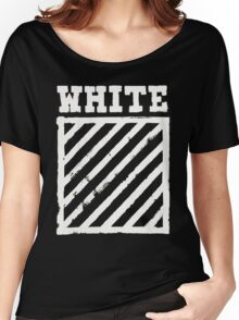 Off-White Brushed Diagonals v2 Women's Relaxed Fit T-Shirt