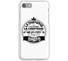 La Sheperie iPhone Case/Skin