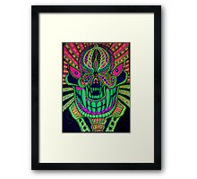 Psyche faces Framed Print
