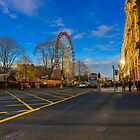 Edinburgh - Princess Street by Sajeev Chandrasekhara Pillai