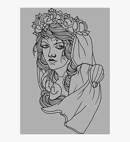 Greek Goddess  Photographic Print