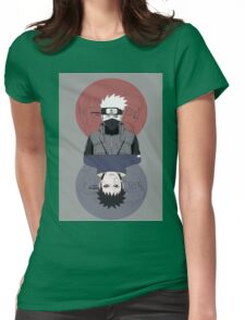Kakashi & Obito Womens Fitted T-Shirt