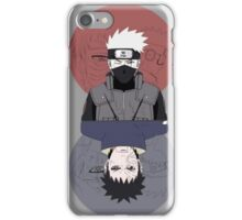 Kakashi & Obito iPhone Case/Skin