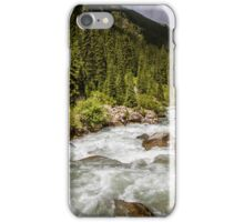 Alpine Riverview - Kyrgyzstan, Central Asia iPhone Case/Skin