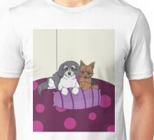 Two Puppies Unisex T-Shirt