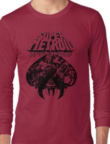 Super Metroid (Japanese Classic Edition) Long Sleeve T-Shirt