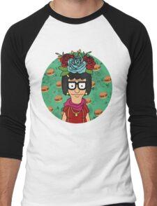Tina Kahlo Men's Baseball ¾ T-Shirt