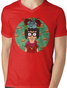 Tina Kahlo Mens V-Neck T-Shirt