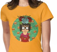 Tina Kahlo Womens Fitted T-Shirt