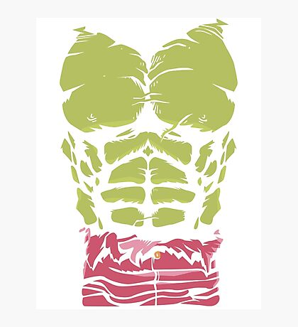 The Hulk Photographic Print