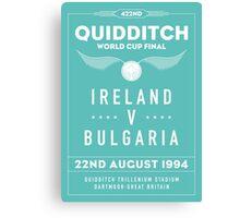 1994 Quidditch World Cup Final Canvas Print