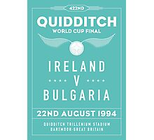 1994 Quidditch World Cup Final Photographic Print