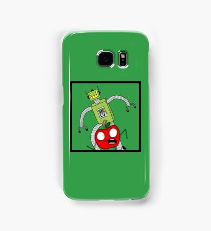 Apple VS Android Samsung Galaxy Case/Skin