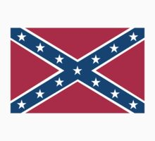 Confederate, Rebel, Dixie, Flag, Pure & Simple, pre USA by TOM HILL - Designer