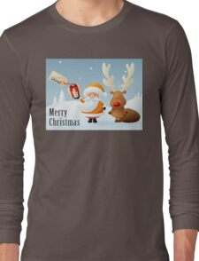 merry christmas - happy new years Long Sleeve T-Shirt