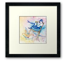 With Head in the Clouds Framed Print