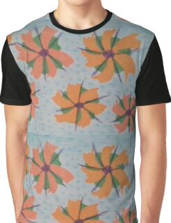 Blooms on the Water Graphic T-Shirt