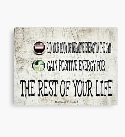 Your Life Canvas Print