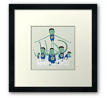 Warriors Super Team Framed Print