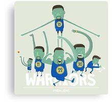 Warriors Super Team Canvas Print