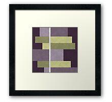 Geometric Marble 05 Framed Print