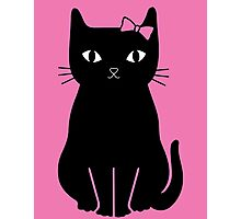 Mrs Kitty Photographic Print