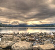 The Lakes 1 by Smudgers Art