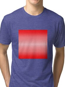 Color Gradient - Bright Red | Light Red Tri-blend T-Shirt