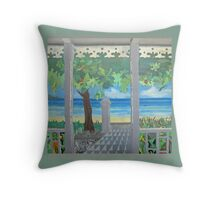 Stacy's Hillsview Guesthouse-1966-Montego Bay Throw Pillow