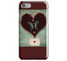 Message of Love and Change iPhone Case/Skin