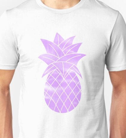 Purple Pineapple Unisex T-Shirt