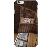 Industrial staircase going up to the tower iPhone Case/Skin