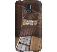 Industrial staircase going up to the tower Samsung Galaxy Case/Skin