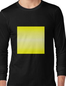 Color Gradient - Bright Yellow | Light Yellow Long Sleeve T-Shirt