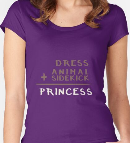 Princess Equation Women's Fitted Scoop T-Shirt