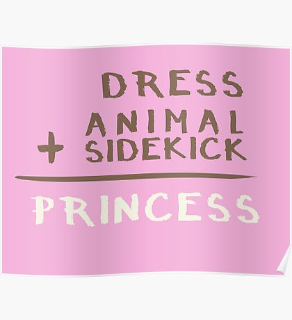 Princess Equation Poster