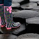 Giants Causeway Spotted Wellies by Alan McMorris