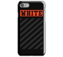 Off-White Orange Logo (Black) iPhone Case/Skin