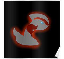 Pokemon Yveltal - Team Flare Silhouette Poster
