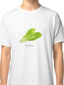 i love lettuce Classic T-Shirt