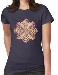 Fractal Mandala Womens Fitted T-Shirt