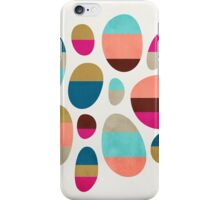 Color-Blocked Pebbles #1 iPhone Case/Skin