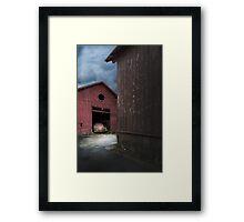 Barn Find Framed Print