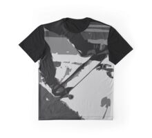 Half Pipe Skateboarding Graphic T-Shirt