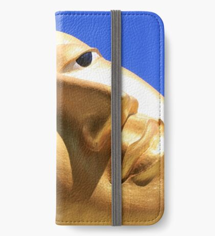 Reclining Buddha from Thailand iPhone Wallet/Case/Skin