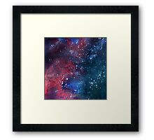 In The Blues Framed Print