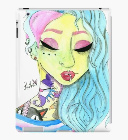 Tattoo Mermaid iPad Case/Skin